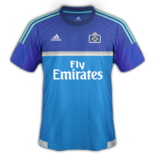 Hambourg 2016 maillot exterieur 2015 2016