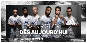 Lyon 2016 maillot des lumières football maillot third
