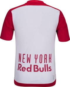 New York Red Bull 2015 dos maillot foot domicile