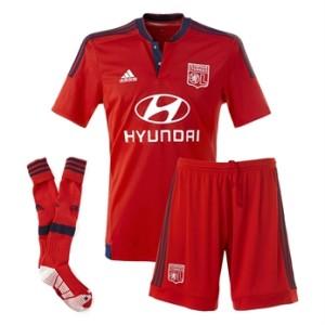 Olympique Lyonnais 2016 maillot exterieur officiel