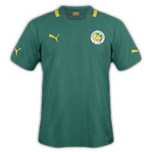Senegal 2015 maillot exterieur CAN 2015