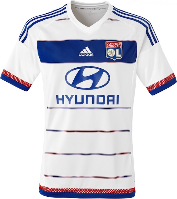 Olympique Lyonnais maillot football