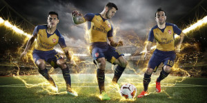 Arsenal 2016 away kit 15-16