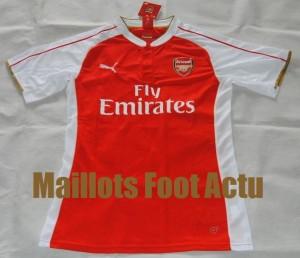 Arsenal 2016 maillot domicile 15-16