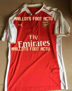 Arsenal 2016 maillot domicile foot 2015 2016
