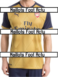 Arsenal 2016 maillot exterieur foot 15-16