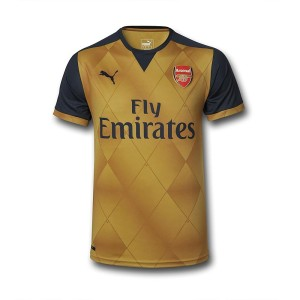 Arsenal 2016 maillot exterieur officiel 2015 2016