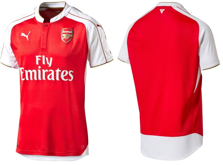 Arsenal 2016 les nouveaux maillots de foot d voil s for Arsenal maillot exterieur 2013