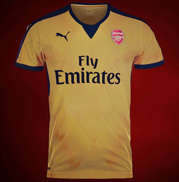 Arsenal 2016 maillot foot exterieur possible maillots for Arsenal maillot exterieur