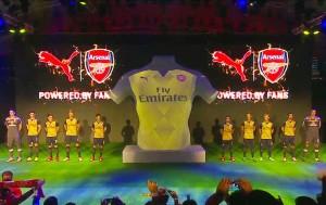 Arsenal 2016 maillto exterieur presentation 2015 2016