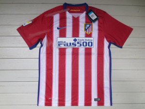 Atletico Madrid 2016 maillot domicile 15-16 500
