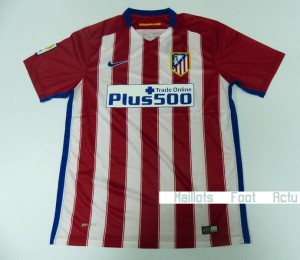 Atletico Madrid 2016 maillot foot domicile 15-16