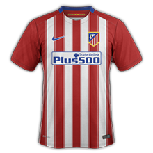Atletico Madrid 2016 maillot foot domicile 2015 2016
