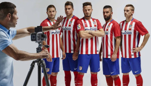 Atletico Madrid 2016 maillot foot domicile officiel 15-16