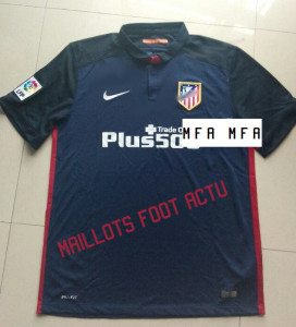 Atletico Madrid 2016 maillot foot exterieur 15-16