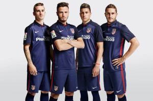 Atletico Madrid 2016 maillot foot exterieur officiel 15-16