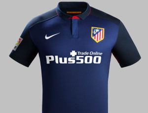 Atletico Madrid 2016 maillot foot exterieur torse 15-16