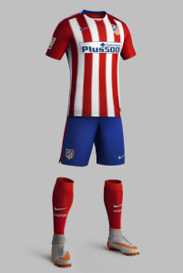 Atletico Madrid 2016 tenue foot domicile 2015 2016