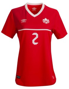 Canada 2015 maillot football domicile