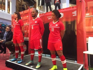 Canada 2015 maillot football domicile officiel