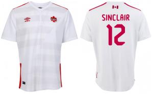 Canada 2015 maillot football exterieur