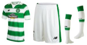 Celtic 2016 maillot domicile 15-16 short chaussettes