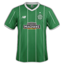 Celtic 2016 maillot foot exterieur 15-16