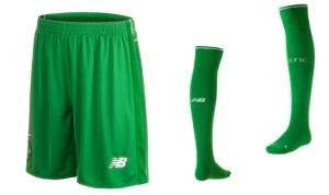 Celtic 2016 maillot short chaussettes exterieur 2015 2016