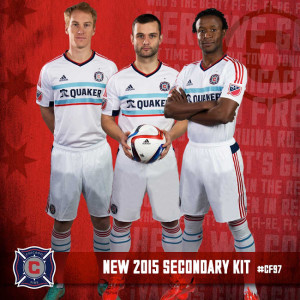 Chicago Fire 2015 maillot exterieur foot