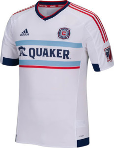 Chicago Fire 2015 maillot exterieur football