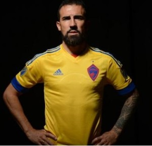 Colorado Rapids 2015 maillot foot exterieur officiel