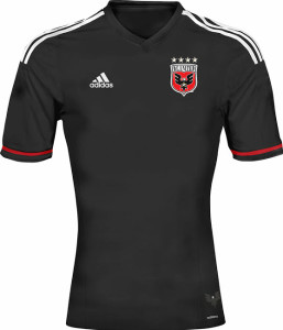DC United 2015 maillot domicile football