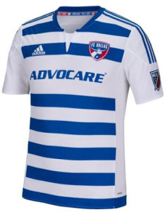 FC Dallas 2015 maillot exterieur football