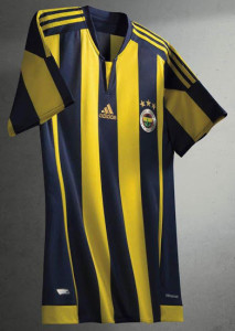 Fenerbahce 2016 maillot foot domicile 15-16
