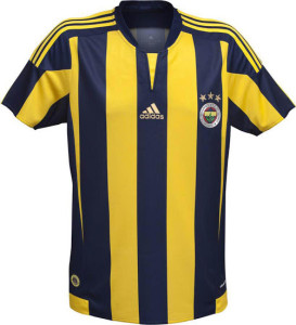 Fenerbahce 2016 maillot football domicile 15-16
