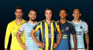 Fenerbahce 2016 maillots de foot Turkish Airlines