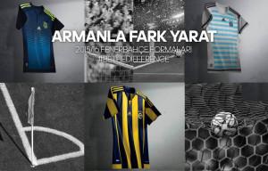 Fenerbahce 2016 maillots de football 15-16