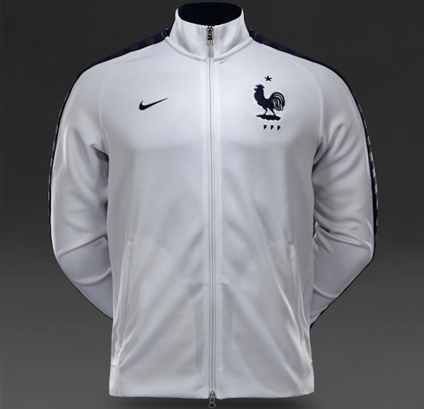 fff le maillot blanc exterieur quipe de france 2015 maillots foot actu. Black Bedroom Furniture Sets. Home Design Ideas