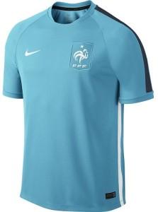 France 2015 maillot entrainement foot bleu ciel