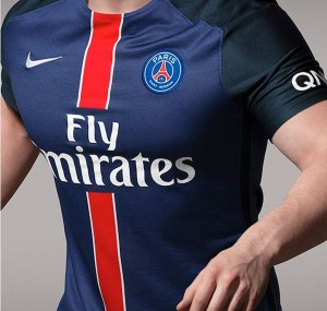 maillot domicile PSG 15-16