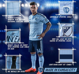 Kansas City 2015 maillot domicile football
