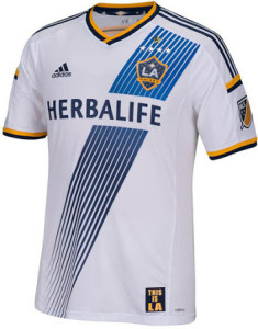 Los Angeles Galaxy 2015 maillot football exterieur