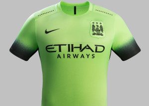 Manchester City 2016 3eme maillot third 15-16