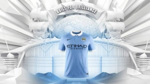 Manchester City 2016 maillot domicile Nike 15-16