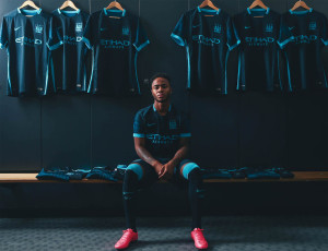 Manchester City 2016 maillot exterieur 15-16 Nike