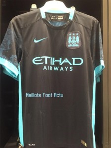 Manchester City 2016 maillot exterieur football 15-16