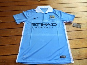 Manchester City 2016 maillot foot domicile 2015 2016