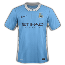 Manchester City 2016 maillot foot domicile