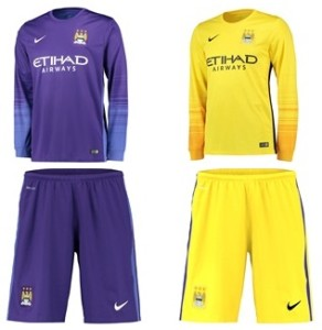 Manchester City 2016 maillots gardien 15-16
