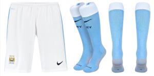 Manchester City 2016 short chaussettes domicile 15-16
